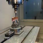 Производство пресс-форм. обработка электрода на вертикальном обрабатывающем центре Haas