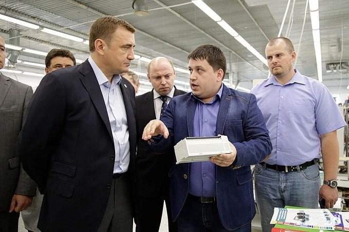 Визит Алексея Дюмина на Завод №423
